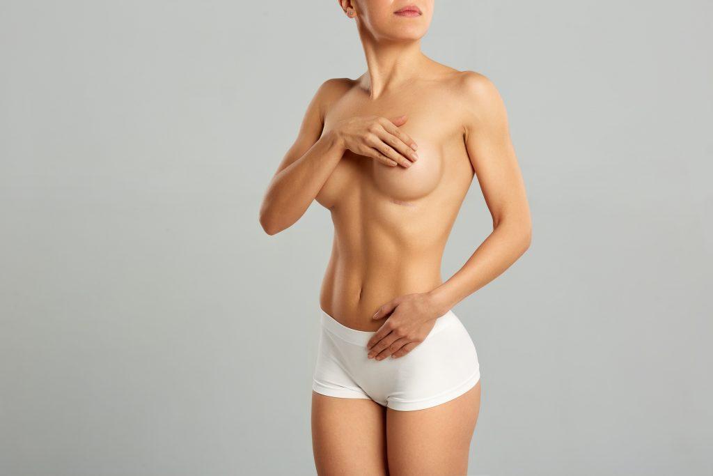 Mulher com corpo escultural
